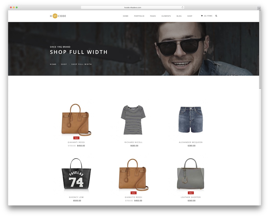 h-code drupal ecommerce template