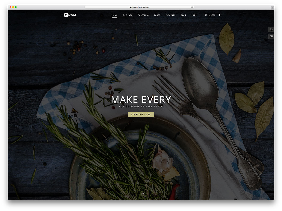 h-code-fullscreen-restaurant-menu-website-template