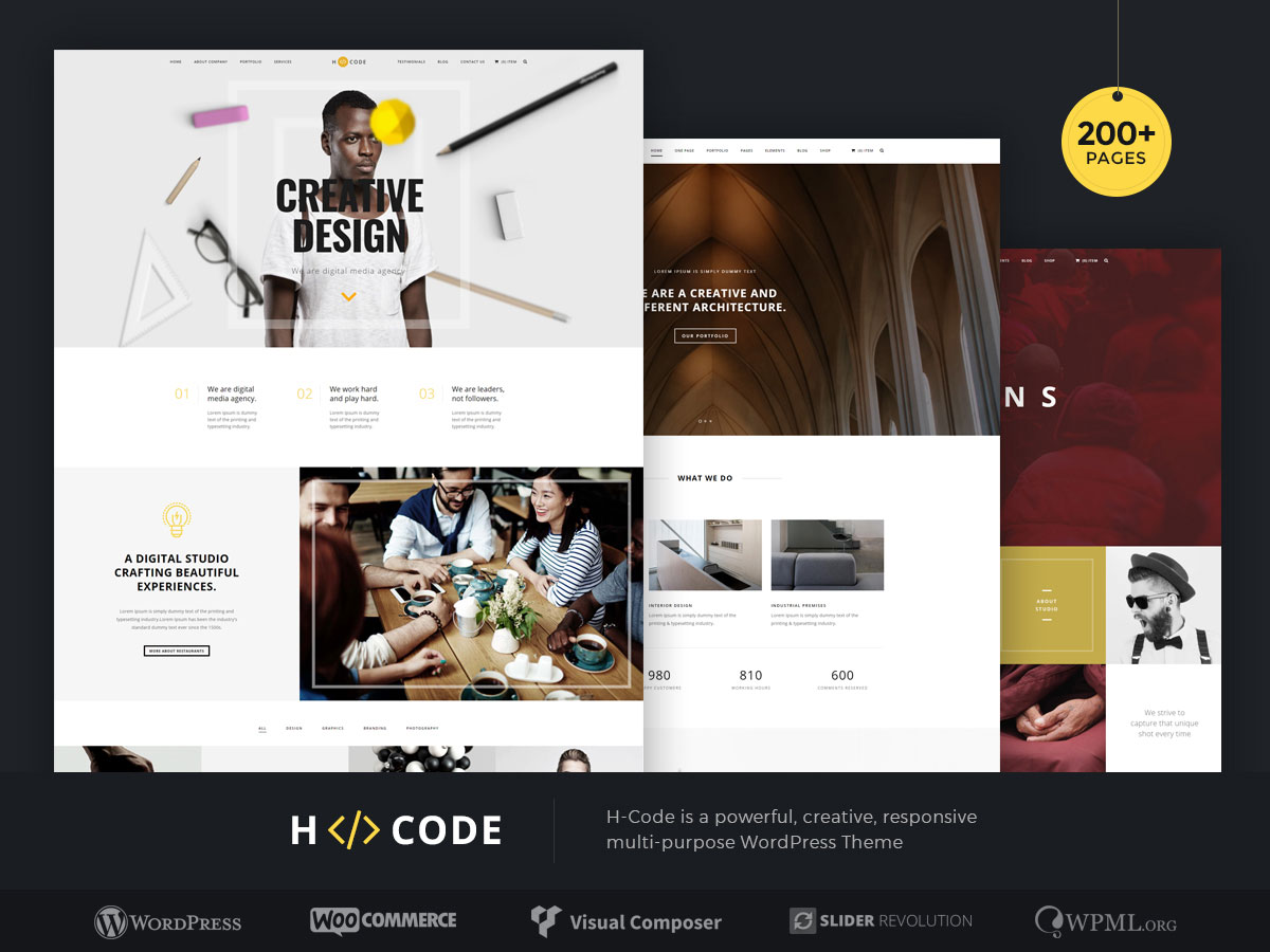 20 Popular Responsive HTML5 WordPress Themes 2018 - Colorlib
