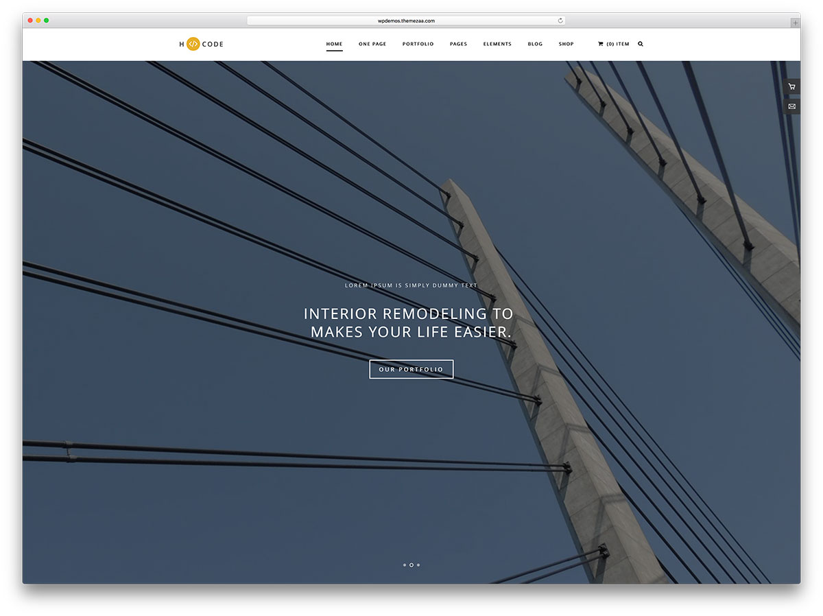 h-code-simple-architect-website-template