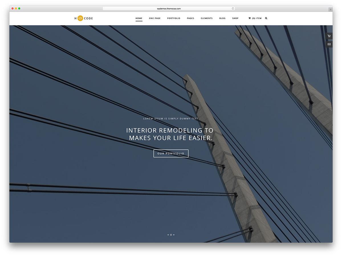 h-code-simple-architect-website-template