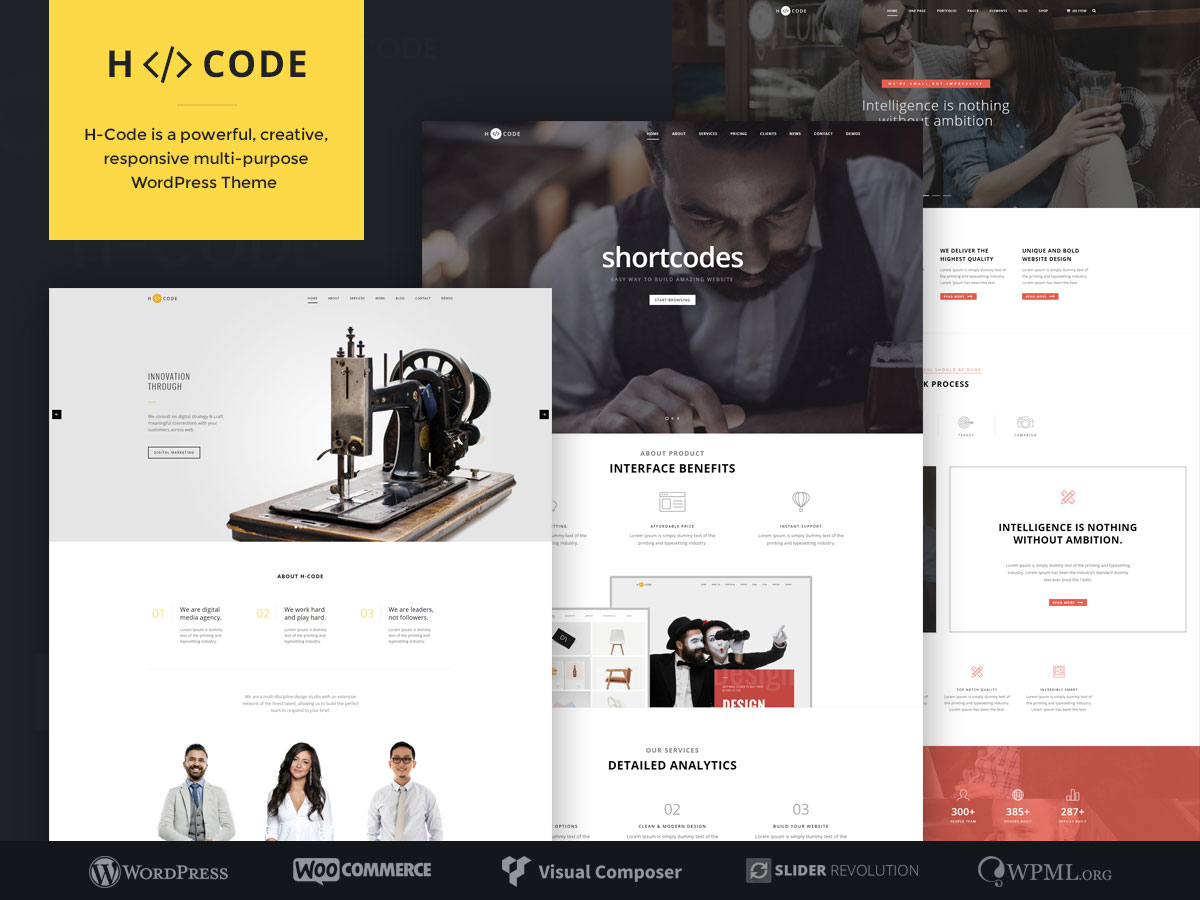 19 Professional Wordpress Themes For Programmers 2017 Colorlib