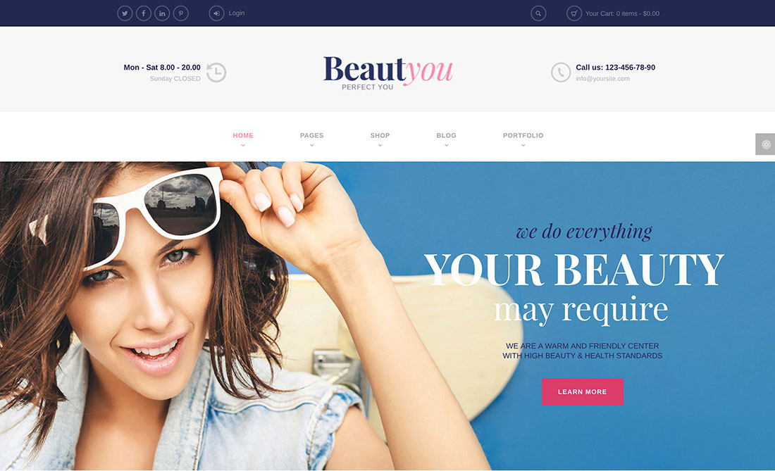Top 28 Most Popular Hair Salon And Barber Shop And Hairdresser WordPress Themes 2019
