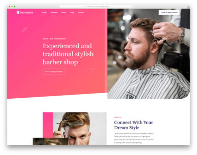 Hairsalone Colorlib Template
