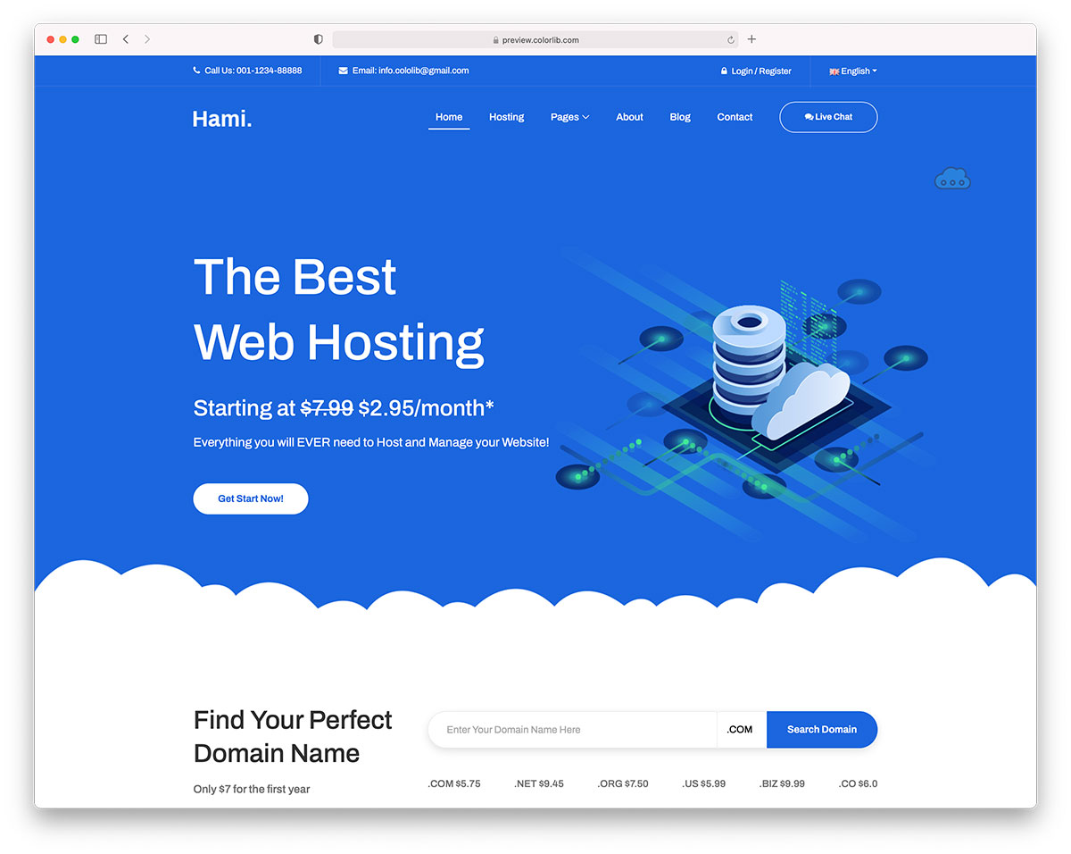 Hami hosting template
