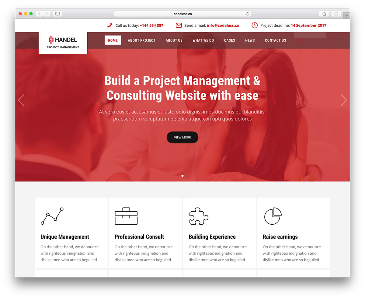 20 best business consulting wordpress themes 2018 colorlib handel is a professional business multipurpose wordpress theme it offers full demos for different trade types and can handle all requests of your business friedricerecipe