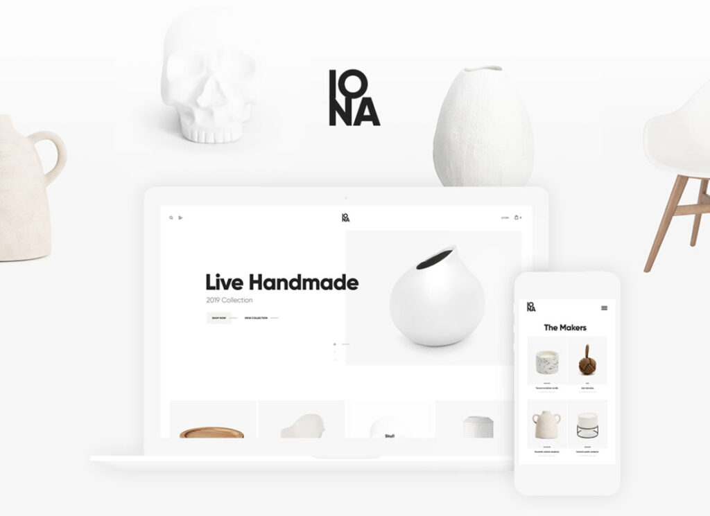 Iona   Handmade & Crafts Shop WordPress Theme
