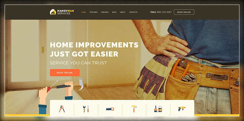 Handyman | Construction and Repair Services WP Theme