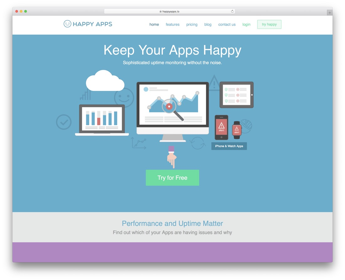 happy apps monitoring tool