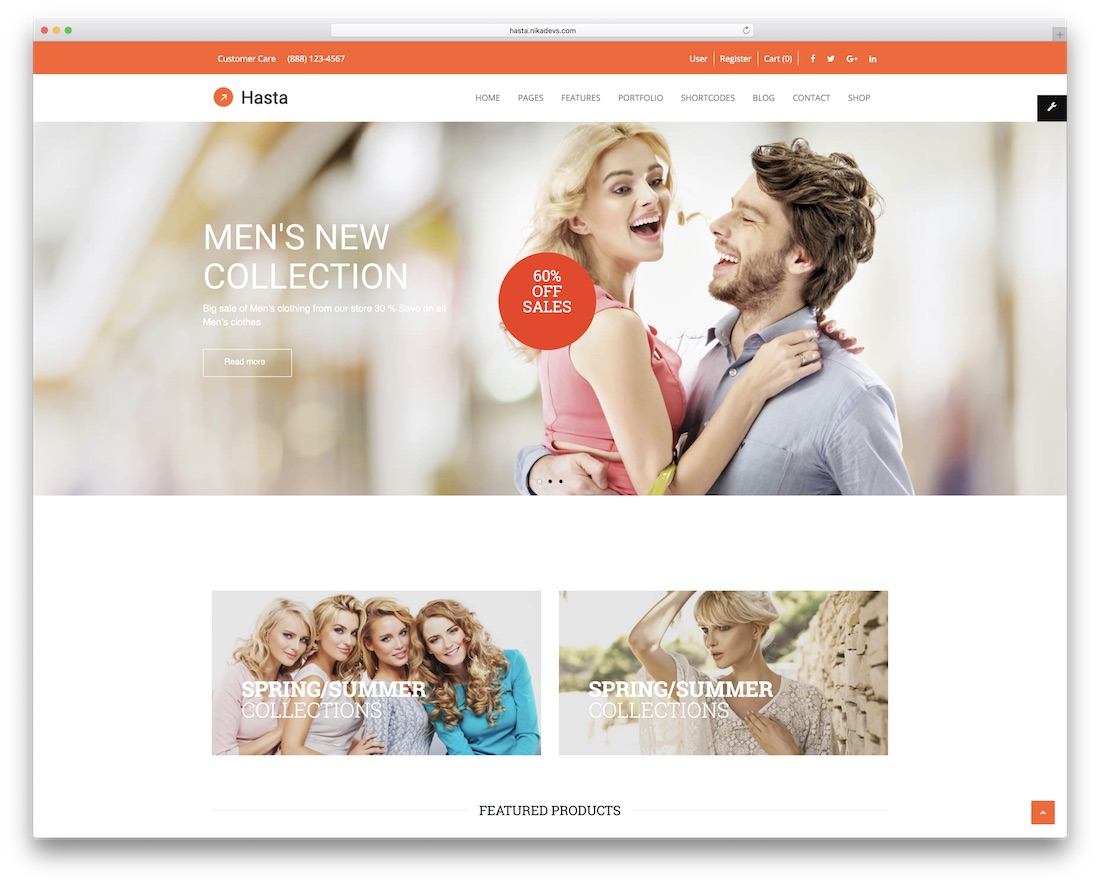 hasta drupal ecommerce template