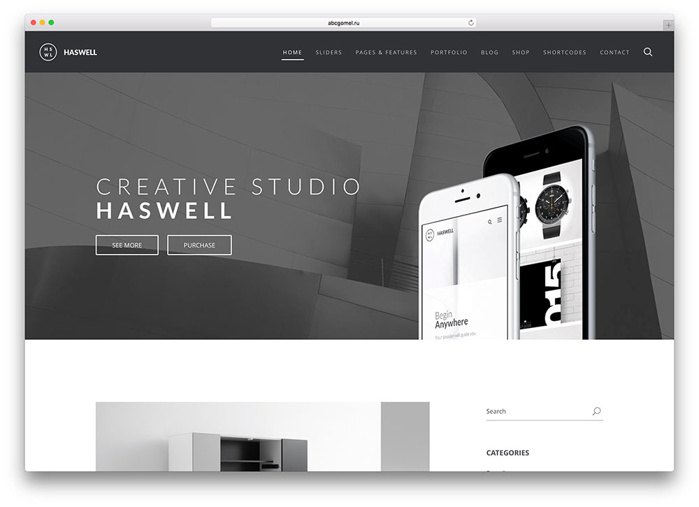 haswell-clean-blog-html5-css3-template