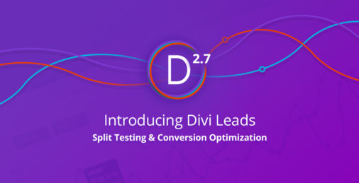 Divi 2.7 Theme Update
