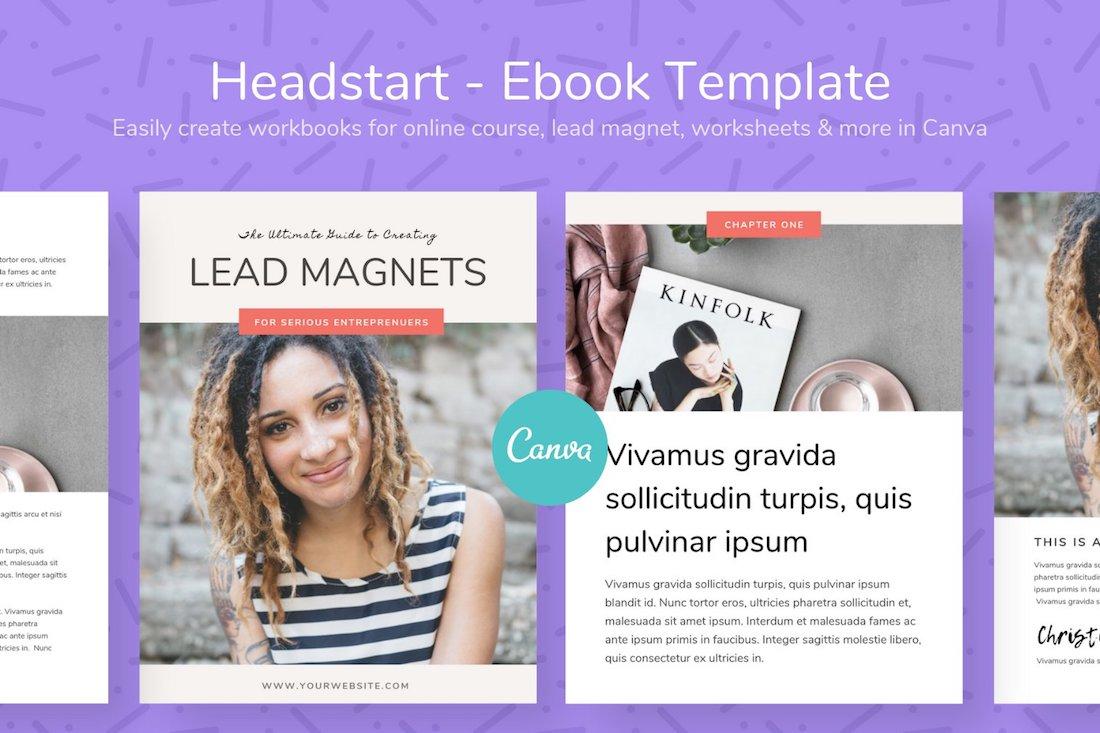 headstart ebook template