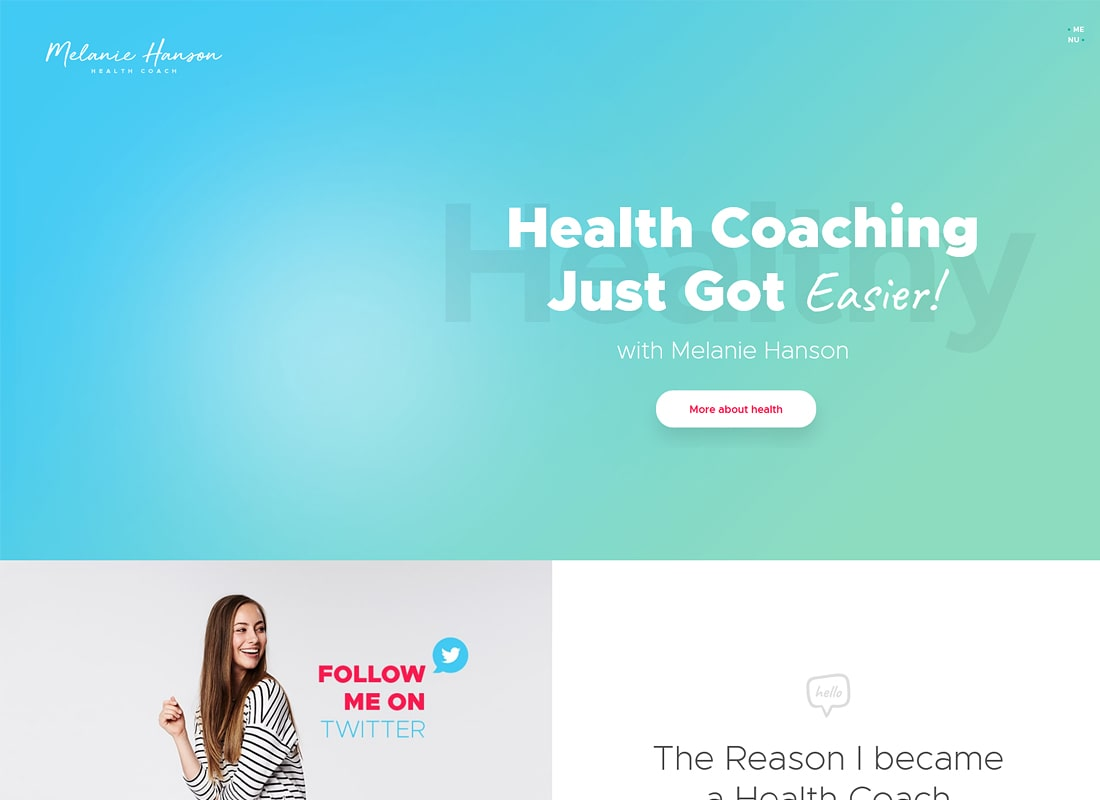 Melanie Hanson | Health Coach Blog & Lifestyle Magazine WordPress Theme