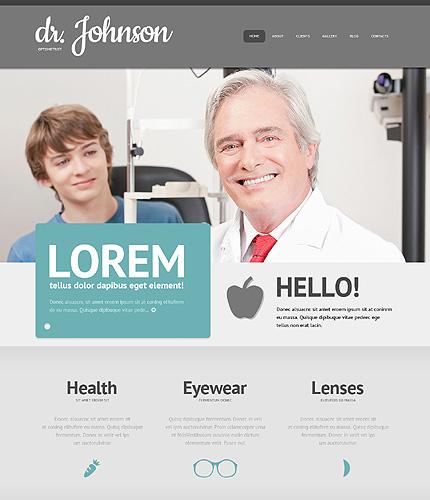 Optometrist's Responsive WordPress Theme