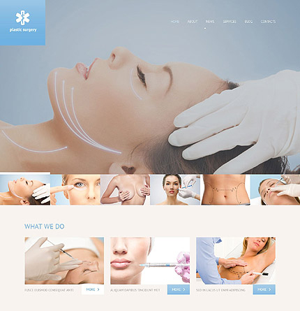 Plastic Surgery Responsive WordPress Theme