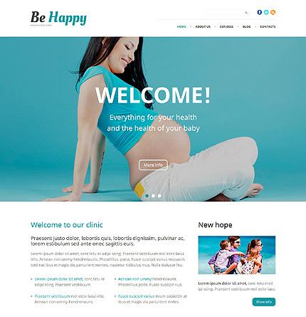Reproductive Medicine WordPress Theme