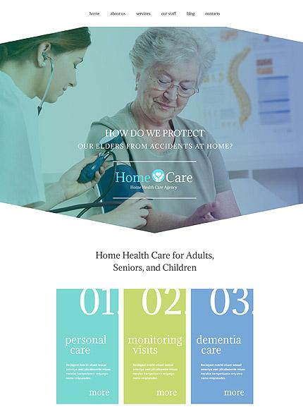 Nursing Home WordPress Theme