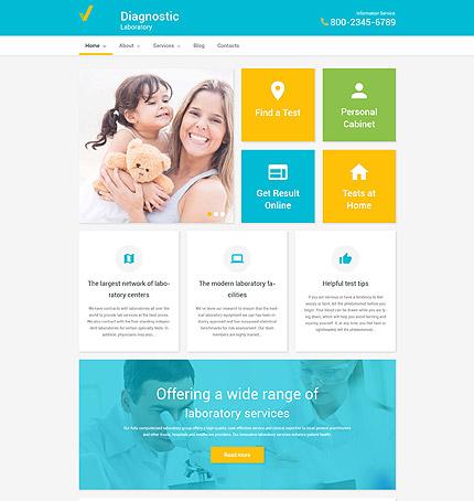 Health Care WordPress Theme
