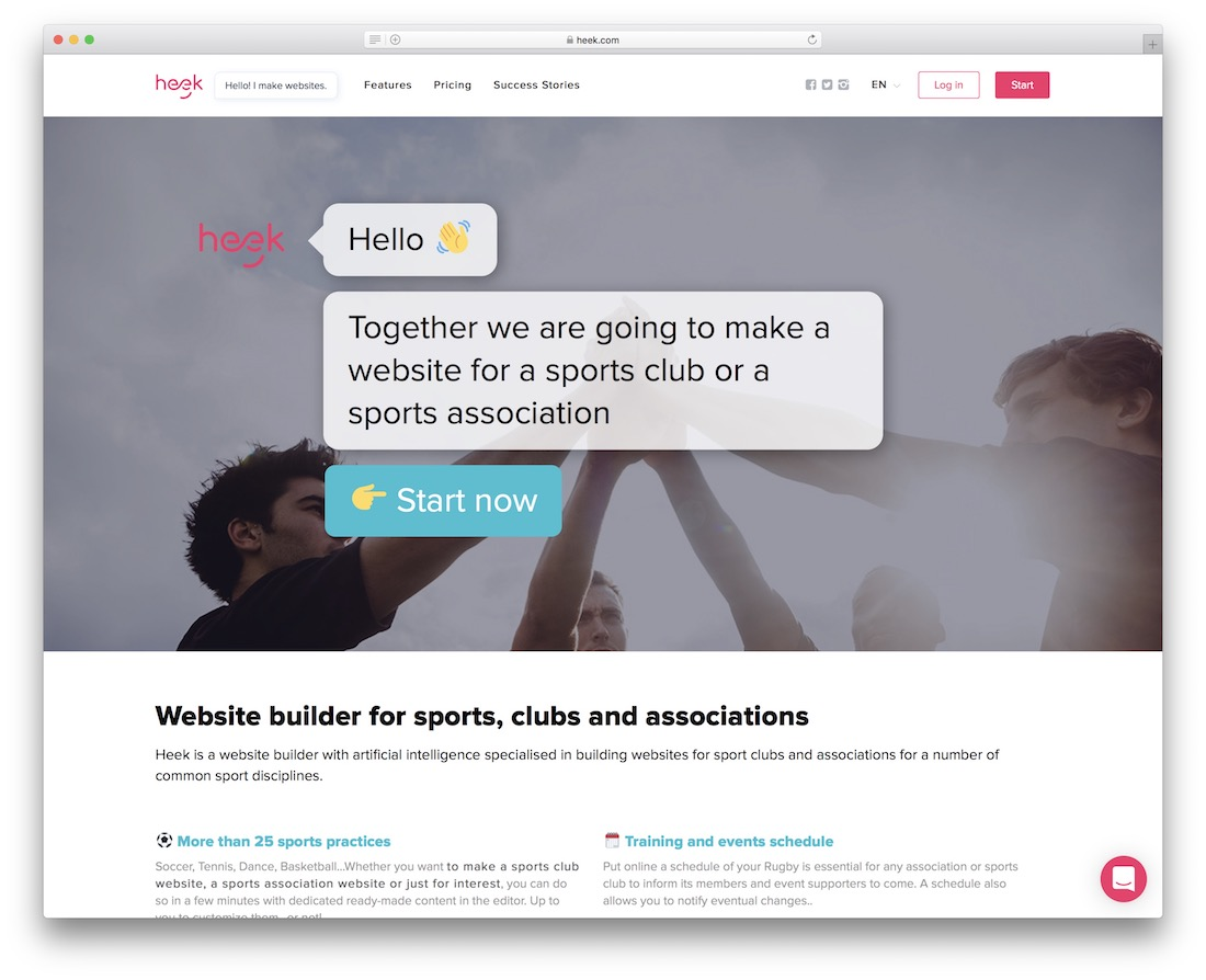 heek membership website builder