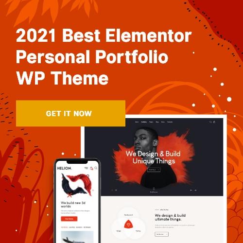 Helion WordPress  theme