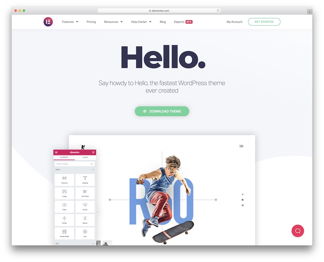hello free multipurpose wordpress theme