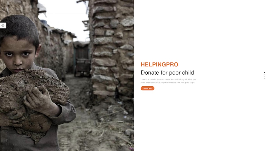 helpingpro website template