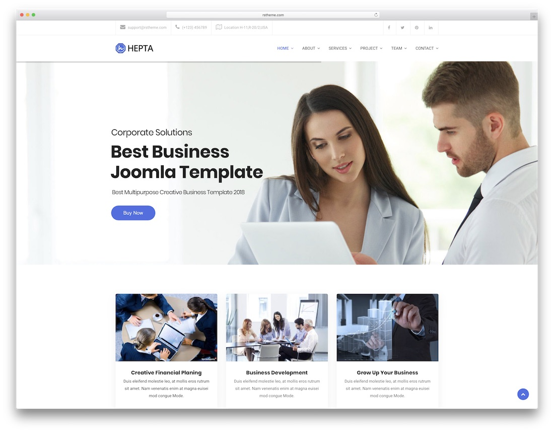 21 Best Joomla Business Templates 2020 Colorlib