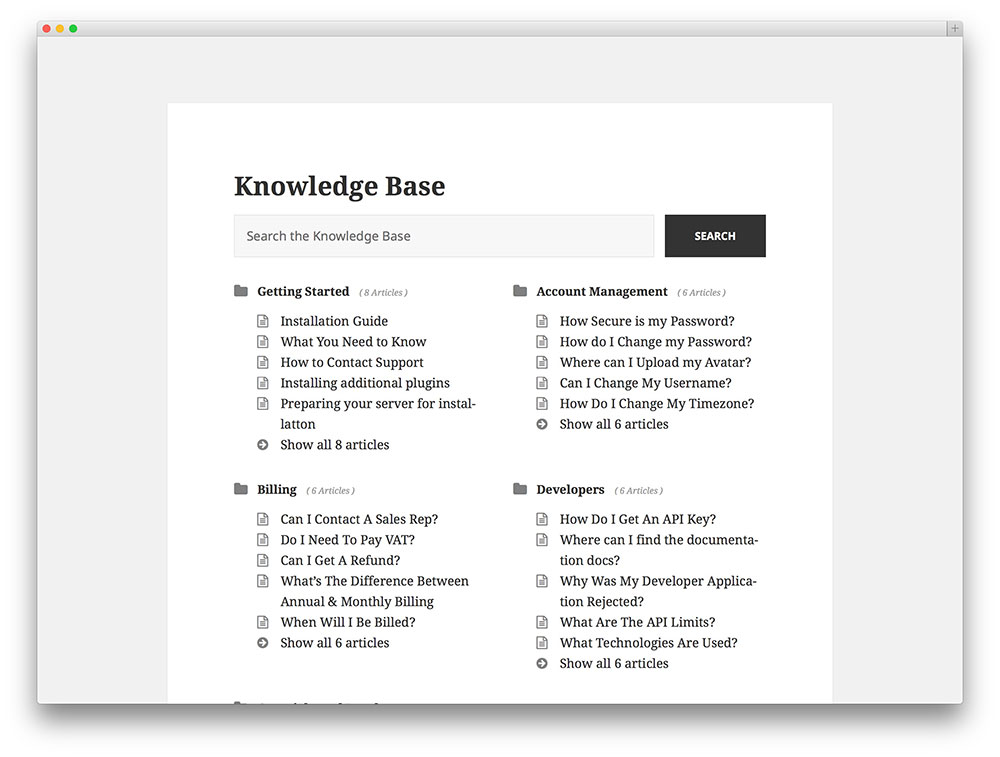 heroic - Knowledge Base plugin