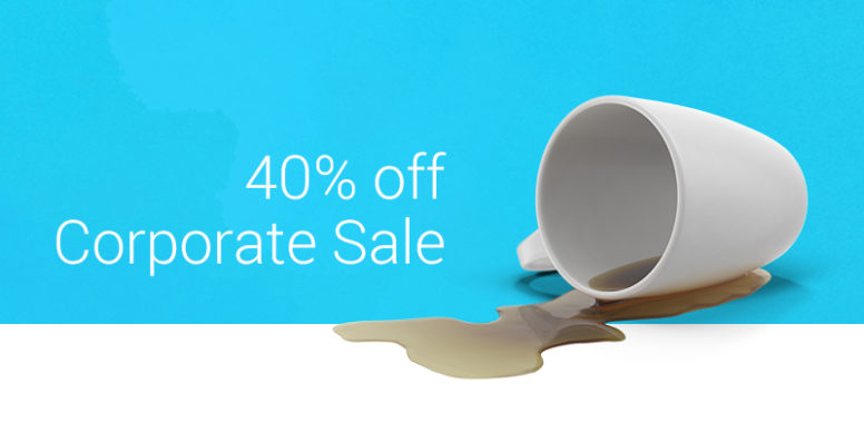 Envato Corporate Campaign – 40% Off Selected Items
