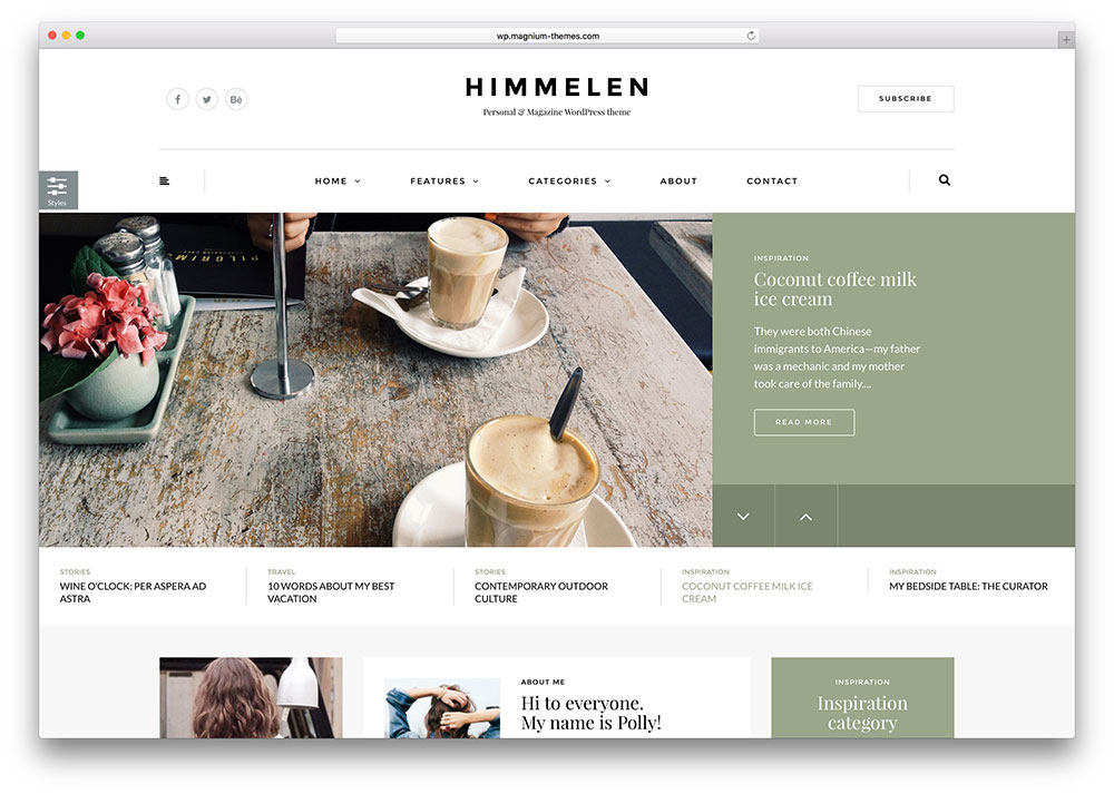 43 Best Fashion Blog & Magazine WordPress Themes 2018 - colorlib