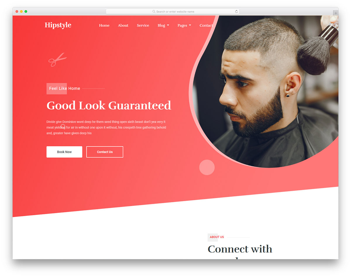 Hipstyle Free Template