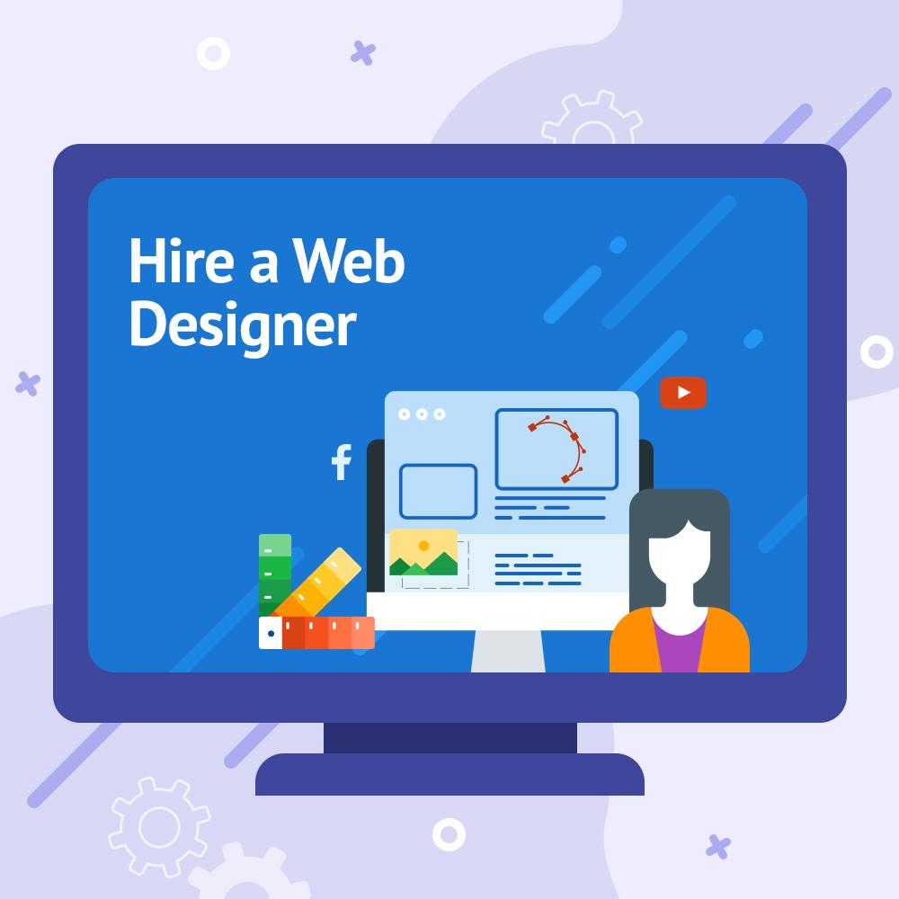 Hire a Web Designer - Pay Per Hour Service