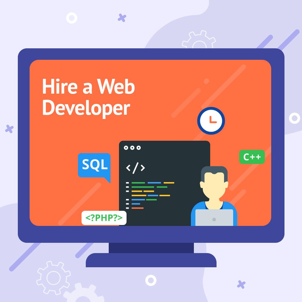 Hire a Web Developer – Pay Per Hour Service