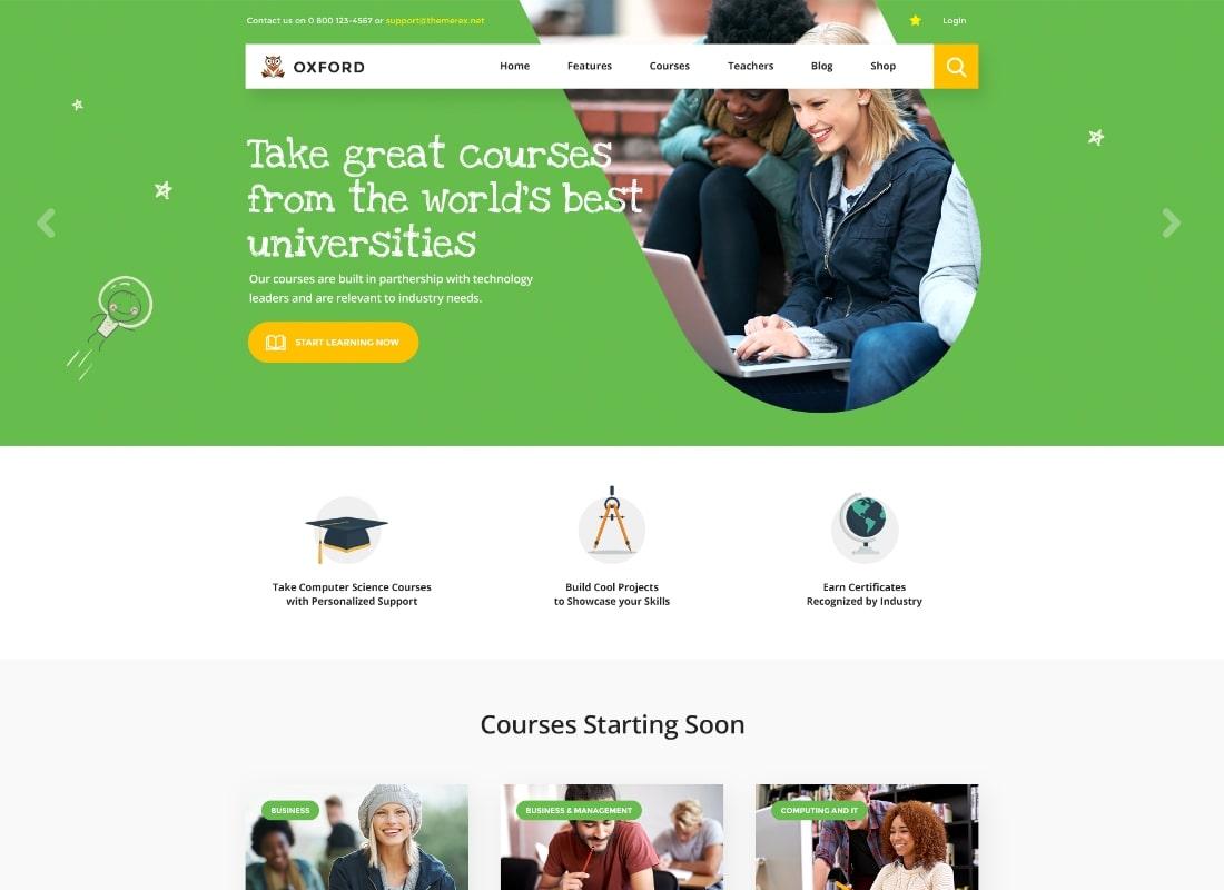 Hogwords | School, University & Education Center WordPress Theme
