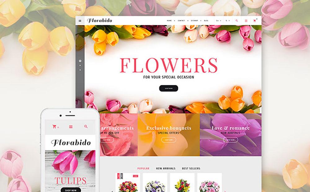 Florabido - Bouquets & Floral Arrangement PrestaShop Theme