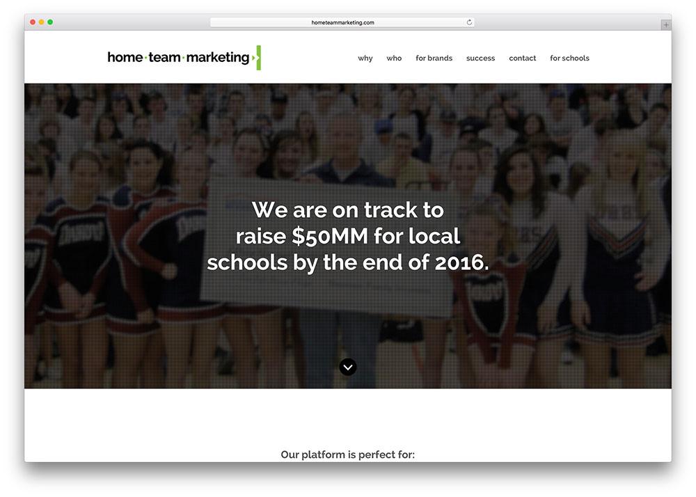 hometeammarketing-education-site-with-jupiter-theme