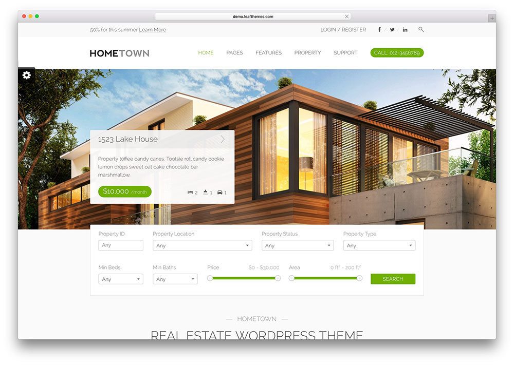hometown-beautiful-realtor-wordpress-theme