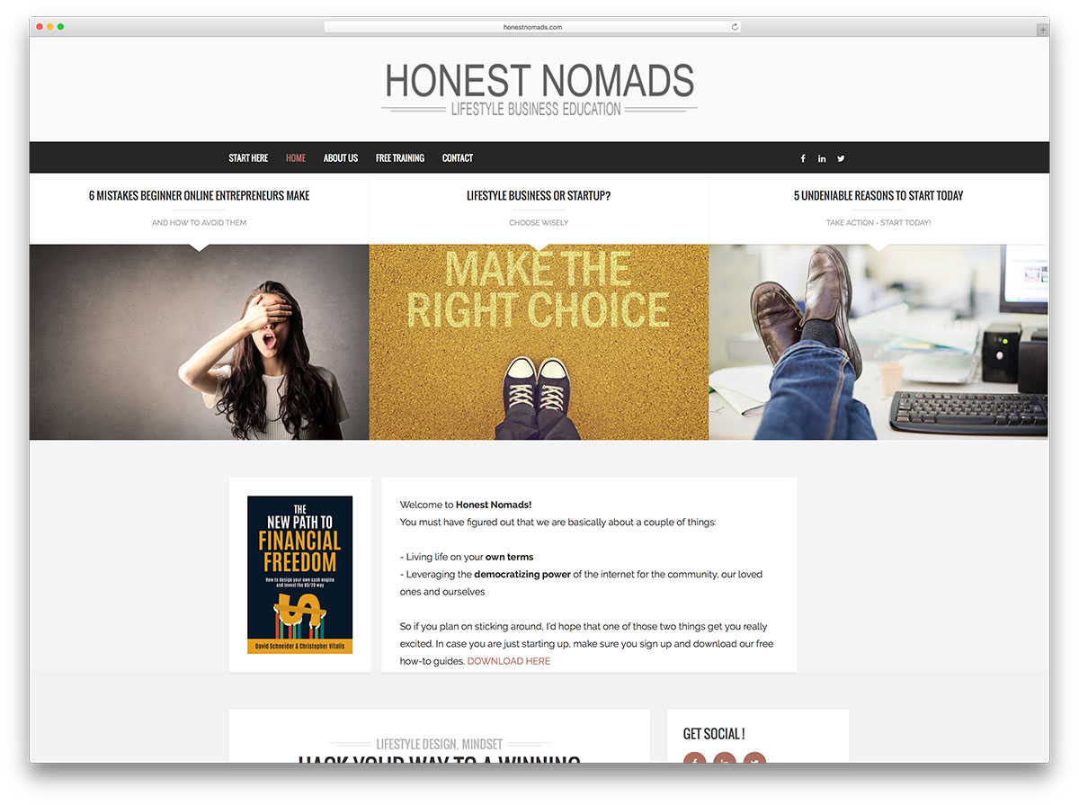 honestnomads-business-education-site