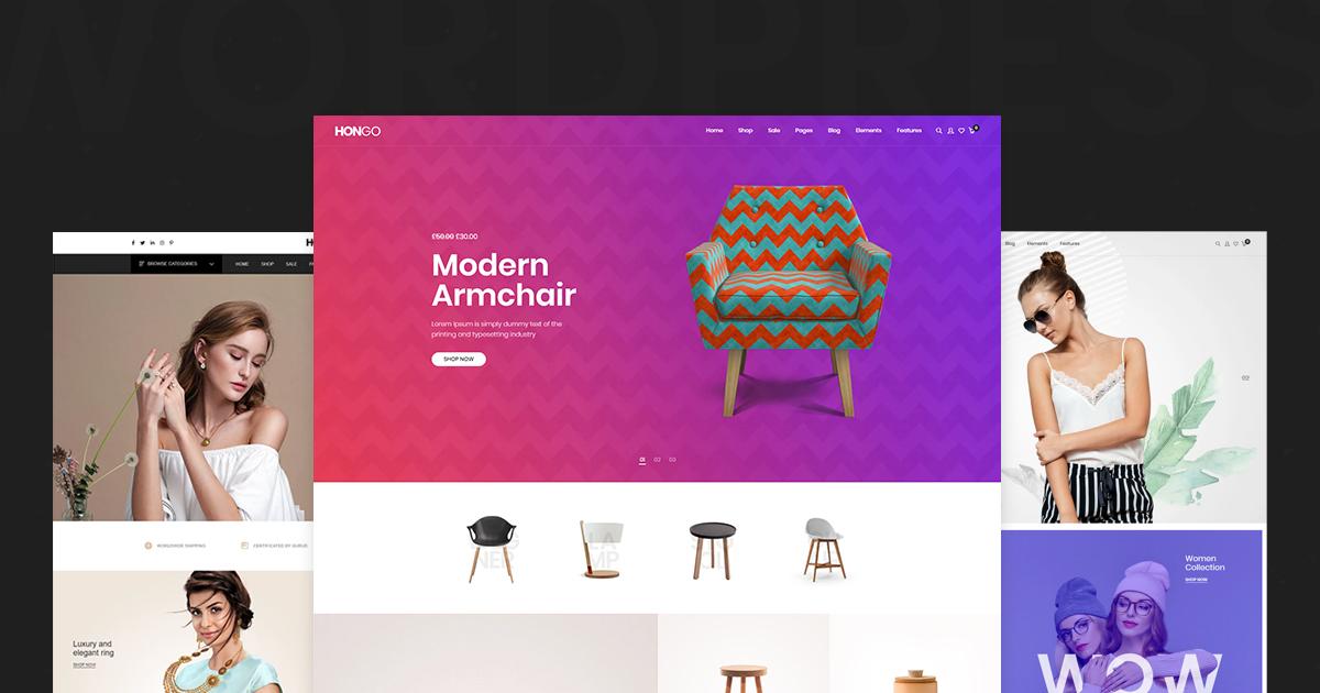 Hongo Review – A Modern Multipurpose WooCommerce WordPress Theme
