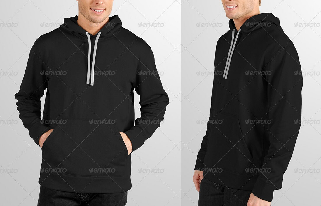 19 Free And Premium Hoodie PSD Mockup Templates In 2018