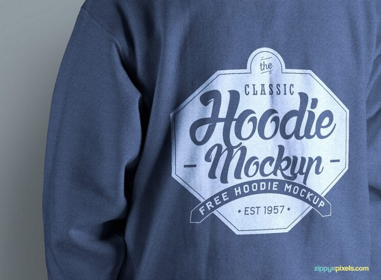 19 Free And Premium Hoodie PSD Mockup Templates In 2017