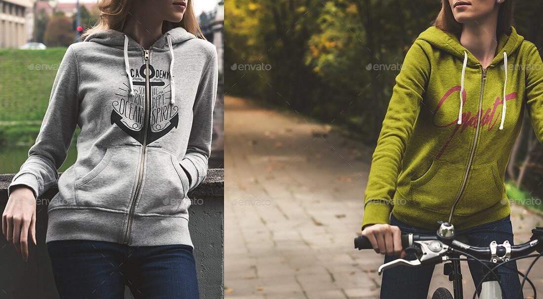 hoodie mockup urban edition