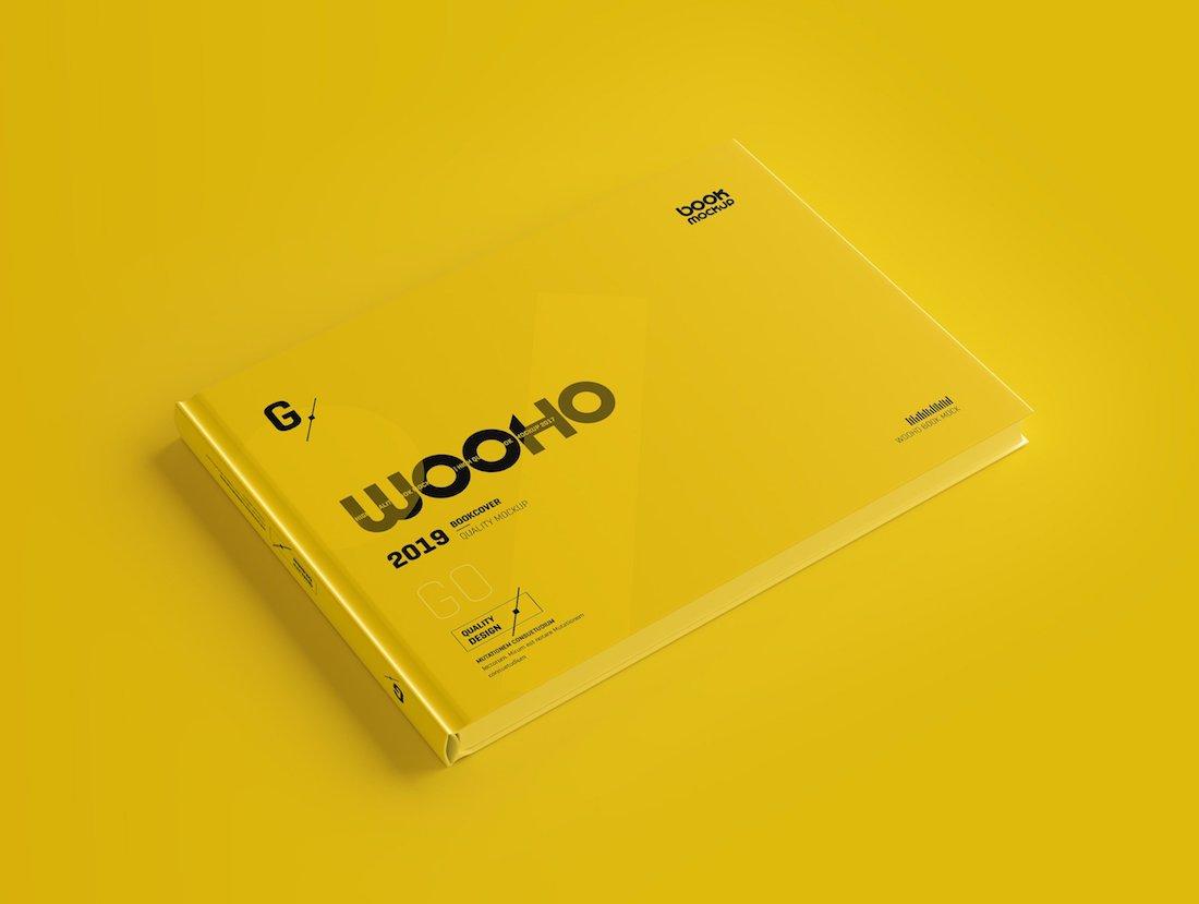 18 Best Horizontal Book Mockup Designs 2019