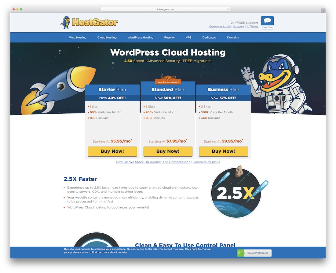 hostgator cheap hosting for wordpress