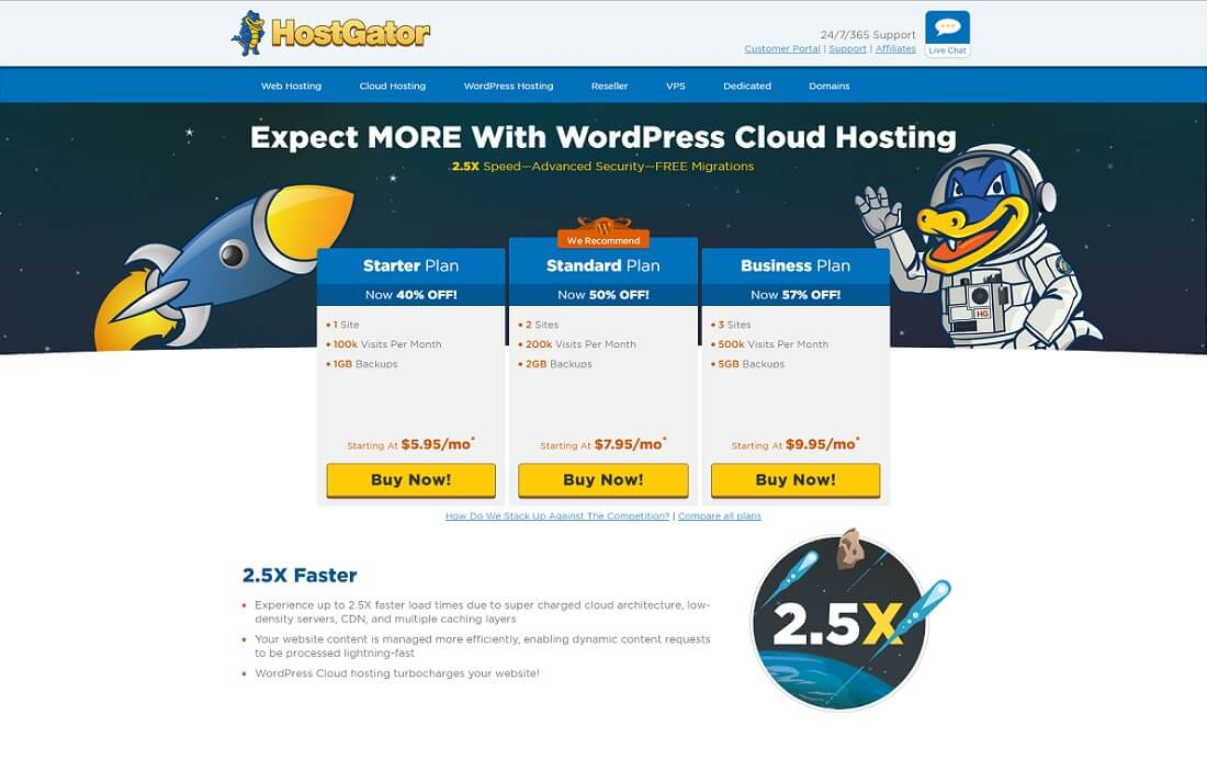 hostgator cheap hosting wordpress