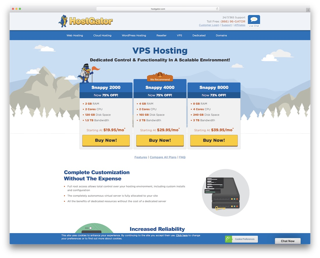 hostgator hosting for woocommerce