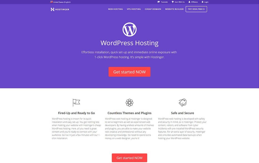 hostinger cheap hosting wordpress