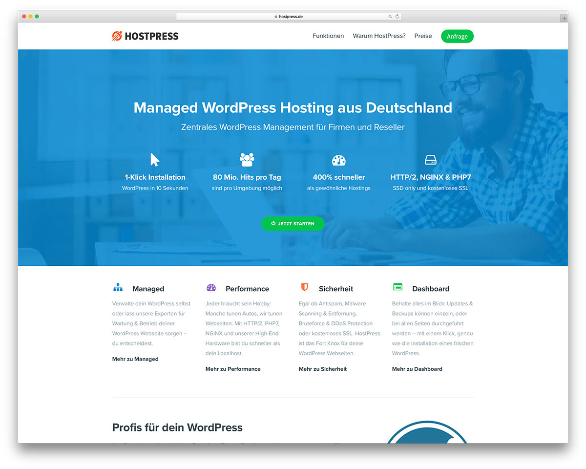 hostpress-uncode-wordpress-hosting-website