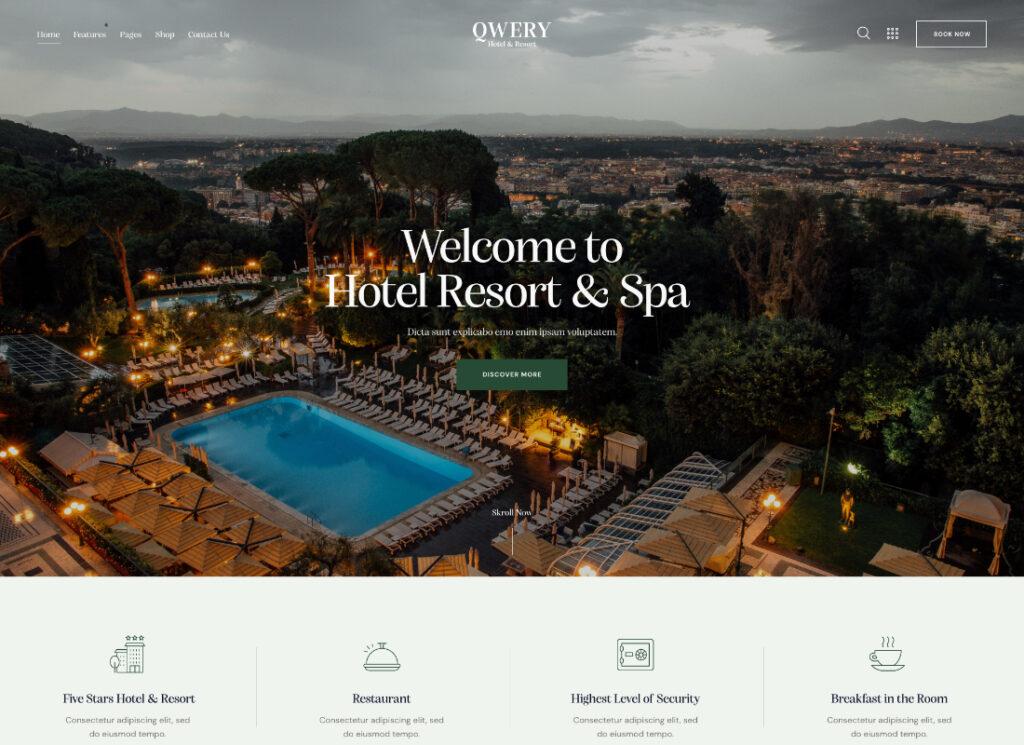 Qwery | Multi-Purpose Business WordPress Theme + RTL